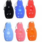 Silicone 3 Button Remote Key Fob Case Cover For Mercedes-Benz