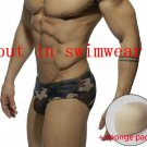 3D  Sexy Three-dimensional sponge protective pad Men underwear