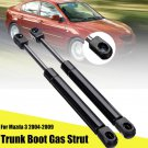 2pcs Car Tailgate Trunk Boot Gas Spring Strut Support Lift For Mazda 3 2004-2009