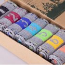 7 Days Of The Week Men socks 7 pairs Grey Numbered 1 To 7 To Help You Stay Organized Or 7 Colors