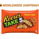 Reese's Take 5 Snack Size Halloween Candy Bars 11.25 Oz WORLDWIDE SHIPPING