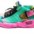 Knitting Breathable Shoe Chunky Platform Sneakers Women
