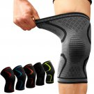 Pair Fitness Running Cycling Knee Support Braces Elastic Nylon Sport Compression Knee Pad