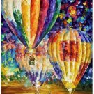 Abstract hydrogen balloo Still life Canvas Wedding Decoration Art DIY  Pa«int by numbers