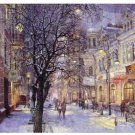 Light snow street view Landscape  Wedding Decoration Art DIY  Pa«int by numbers