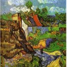 Van Gogh Waz's house work Scenery Canvas Wedding Decoration Art DIY  Pa«int by numbers