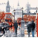 London street pedestrian Landscape Canvas Wedding Decoration Art DIY  Pa«int by numbers