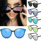 Polarized Sunglasses Eyewear Retro Mirrored UV400 Square Shades Glasses