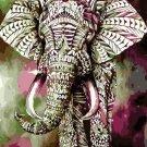 Aurora beautiful elephant Animal Canvas Wedding Decoration Art picture Gift 40x50cm