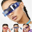 Super Cool Sunglasses Women Weird Siamese Fashion Glasses