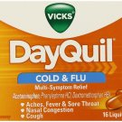 Dayquil Cold & Flu Multi-Symptom Relief 16 Liquicaps