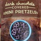 TRADER JOE'S EXCLUSIVE DARK CHOCOLATE COVERED MINI PRETZELS 12 OZ BAG worldwide