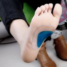 Pair of Orthotic Flat Feet Foot Arch Gel Heel Support Shoe Inserts Insoles Pads for Kids
