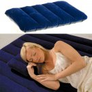Camping Mattress Portable Inflatable Flocked Pillow Pad Outdoor Cushion