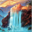 Fantasy woman from the mountain Scenery-- 40x50cm   DIY Painting By Numbers Canvas  Home Wall Art