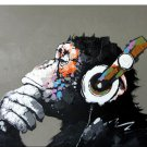 Abstract Monkey- 40x50cm   DIY Painting By Numbers Canvas  Home Wall Art