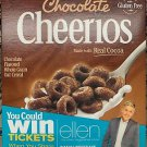 FAMILY SIZE CHOCOLATE CHEERIOS CEREAL 20.3 OZ BOX GLUTEN FREE Free worldwide shipping