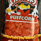 CHESTER'S PUFFCORN FLAMIN HOT FLAVORED 4 1/4 OZ BAG PUFFED CORN SNACK