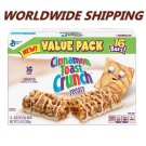Cinnamon Toast Crunch Treats Cereal Bars 16 CT 13.6 Oz WORLDWIDE SHIPPING