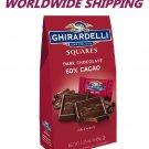 Ghirardelli Dark Chocolate 60% Cacao Squares 5.25 Oz WORLDWIDE SHIPPINGWORLDWIDE SHIPPING