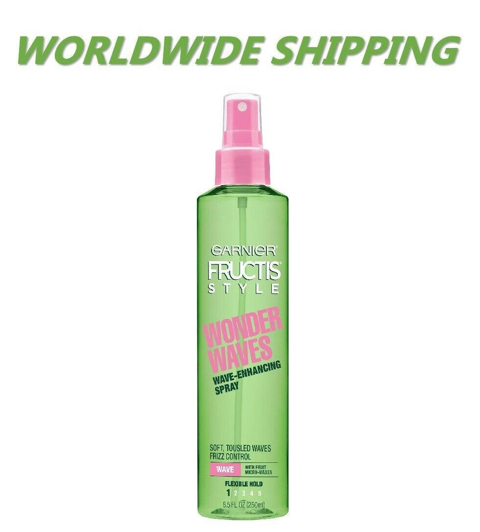 Garnier Fructis Style Wonder Waves Wave-Enhancing Spray 8.5 Fl Oz WORLD SHIPPING
