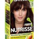 Garnier Nutrisse Nourishing Color Hair Dye 40 Dark Brown WORLDWIDE SHIPPING