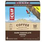 Clif Bar Coffee Collection Dark Chocolate Mocha Energy Bars 6 Ct WORLD SHIPPING