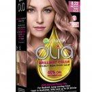 Garnier Olia Brilliant Color Permanent Hair Dye 8.22 Medium Rose Gold WORLD SHIP