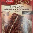 BETTY CROCKER DELIGHTS SUPER MOIST GERMAN CHOCOLATE CAKE MIX 15.25 OZ BOX