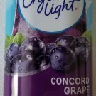 CRYSTAL LIGHT CONCORD GRAPE DRINK MIX 12 QUARTS FREE WORLDWIDE SHIPPING