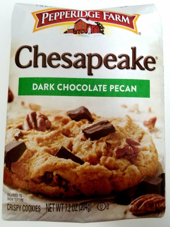 Pepperidge Farm Chesapeake Dark Chocolate Pecan Cookies FREE WORLD SHIPPING