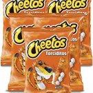 Sabritas Mexican chips Cheetos Torciditos , 5 BAGS (56 G)