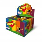 LOVE IS... MIXED FLAVORS SEALED BOX - 100 PCS Assorted Bubble Gums 5 FlavorsFrom europe