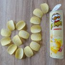 3 x Pringles Emmental Cheese Flavor Potato Chips 165g Made in Belgium From Europe