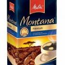 Melitta Montana Premium Coffee German Coffee Vacuum Pack 500 g from Germany