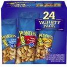 24 PLANTERS  Packs  Cashews,  Peanuts & Honey Roasted Peanuts)