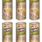 6x New Pringles Mushroom & Cream Flavor Potato Chips 165g 5.8ozFrom Europe