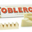 3 x TOBLERONE WHITE Swiss Chocolate Bars pack of 100g 3.5oz = total of 300 grams from Europe