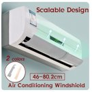 Air Conditioning Baffle Shield Wind Guide Board Straight Anti-wind Deflector