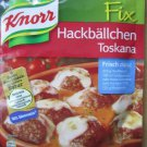 10 x KNORR Meatballs Toscana  Style From Germany