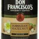 Don Francisco Hawaiian Hazelnut Coffee,  Ground  2 can