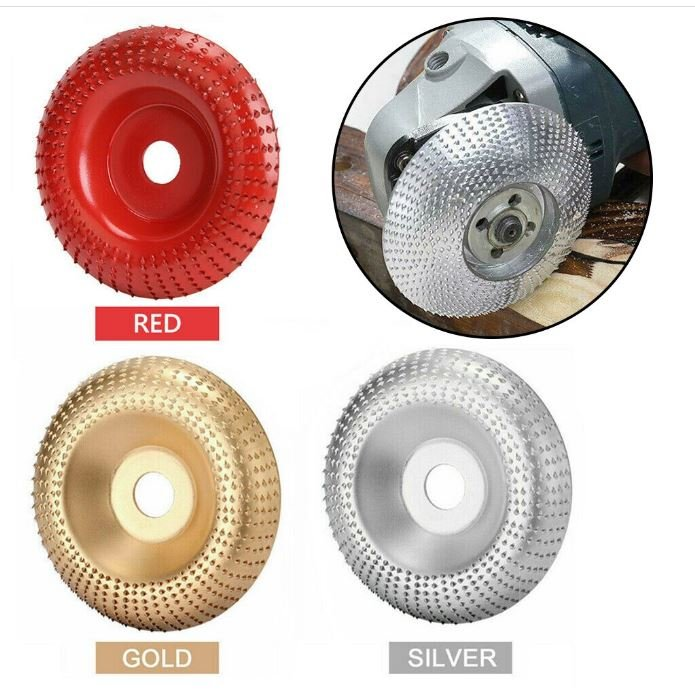 Shaping Angle Grinder Wheel Woodworking Wood Carving Disc Rotary