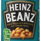 Heinz Baked With Tomato Sauce - 415g  Pack of 12 a m From UK
