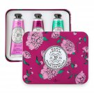 Chatelaine  Hand Cream Eggplant Collection, Set  Cherry Almond, Wild Fig, Winter Flower from France