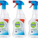 3x Dettol Multi Purpose Antibacterial Surface Cleanser, Bleach and Odor Free