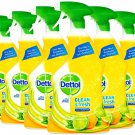 6 x Dettol Multi Purpose Cleaner Clean and Fresh Sparkling Lemon and Lime Burst