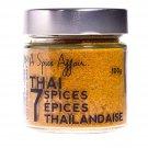 Spice  Affair- Thai Seven Spices A Spice Affair. 100g (3.5 oz) Jar-- From Canada