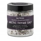 Arctic Thyme Sea Salt, 2.82 Ounces of Handcrafted Gourmet Salt Flakes From Westfjords of Iceland