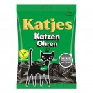 4 x 200g bag KATJES Katzen-Ohren / cat ears licorice Veggie New from Germany