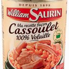 William Saurin 1898 -Cassoulet 100% Volaille 840g -- From France